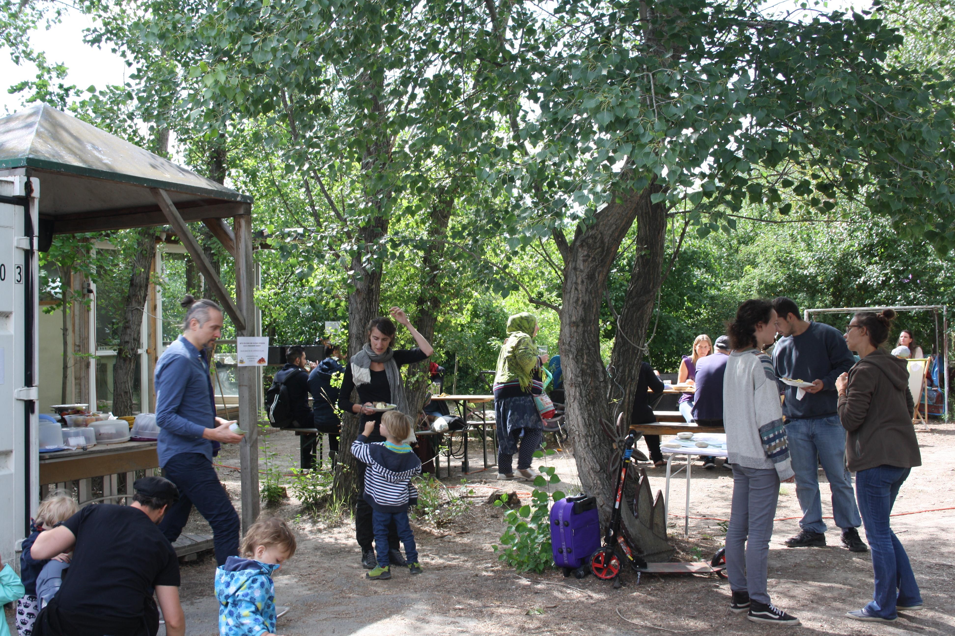 Gartenfest auf der tBASE am 15. 06. 2019