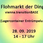 Flohmarkt Der Dinge Am 28.9.2019